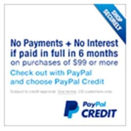 online business paypal credit