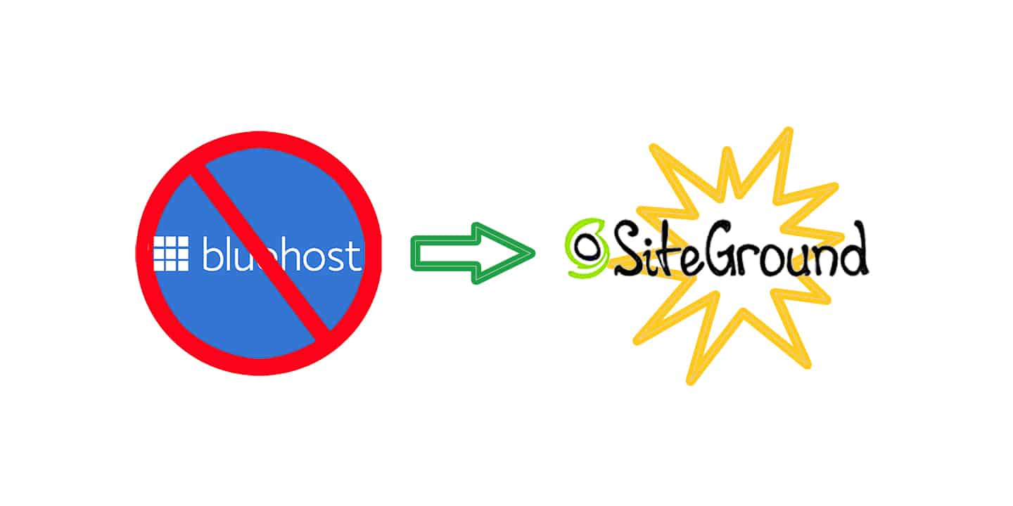 bluehost to siteground